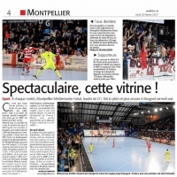 Midi-Libre Match Montpellier Futsal vs KB United 1