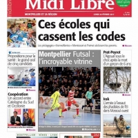 Midi-Libre Match Montpellier Futsal vs KB United 2