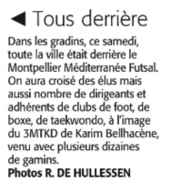 Midi-Libre Match Montpellier Futsal vs KB United 3