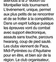 Montpellier Kids Tournament 2016